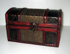 Stara drvena kutijica - sehara