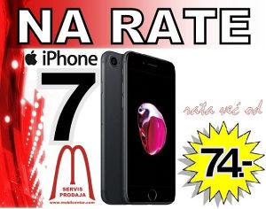Iphone 7 na rate