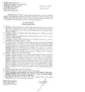 Prodaja Motel Konak - mag. put Zenica- Doboj