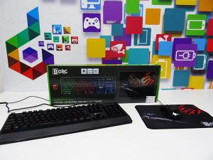 Gaming set BORG Warrior KM-9025 miš, tastatura, podloga