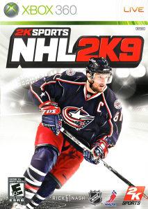 NHL 2K9 XBOX 360 ORIGINAL