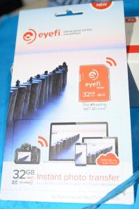 Memorijska kartica eye-fi WIFI 32GB.