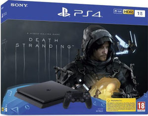 PlayStation 4 1TB F chassis + Death Stranding