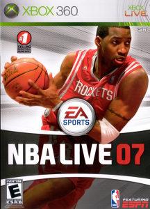 NBA LIVE 07 XBOX 360 ORIGINAL