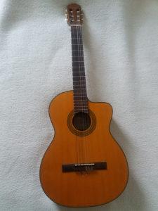 Elektro-Akusticna Gitara Takamine Najlon zice