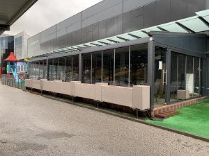 Terasa kafic restoran rattan sedia prodaja kao novo