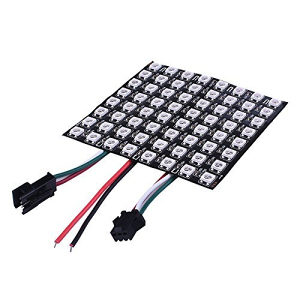 Arduino 8x8 WS2812B Addressable Flexible RGB LED Panel