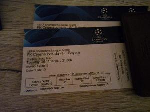 Zvezda - Bayern karte