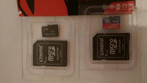 Micro sd memoriska kartica