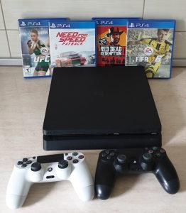 Playstation 4 - dva dzojstika 4 igre