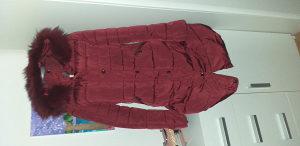 Bordo zenska jakna, predobra vel.L