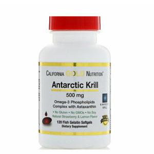 Krill / Kril ulje / 500mg / 120 mekih kapsula