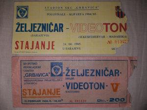 Prodajem stare fudbalske ulaznice