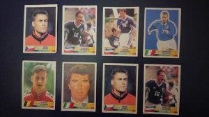 LOT sličice Euro 2000