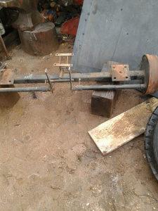 Osovina za traktorsku prikolicu Tomo vinkovic