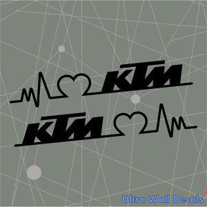 Auto naljepnica KTM EKG stiker naljepnice