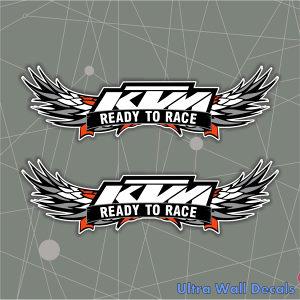 Auto naljepnica KTM READY stiker naljepnice OFF ROAD