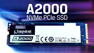 Kingston A2000 NWMe 500 GB 2200/2000 MB/s