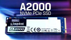 Kingston A2000 NWMe 1 TB 2200/2000 MB/s