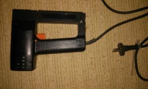 Električna heftarica pištolj