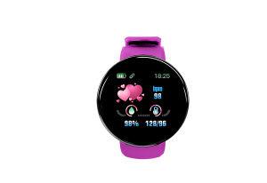 Smartwatch -pametni sat crni Pink GEJIAN D18