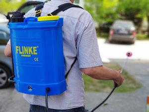 Akumulatorska prskalica FLINKE 16l + ručna pumpa