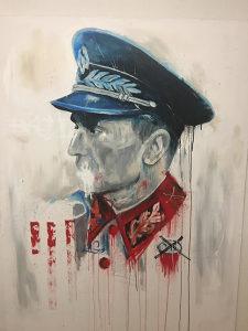 Umjetnička slika Josip Broz Tito