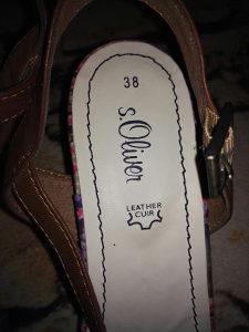 Ženske sandale vel.38 S.oliver
