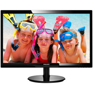 """Philips Monitor 246V5LHAB/00 24""""  16:9 1ms VGA, HDMI"""