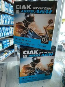 Akumulator CIAK starter MOTO AGM YTX14-BS L+ 12Ah 12V