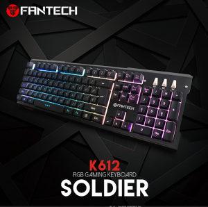 Fantech K612 Soldier Metalna LED Gaming tastatura