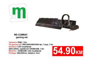 MS COMBAT gaming set - 54,90KM