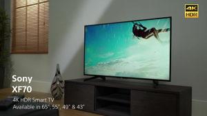 """Sony 4K 43"""" UltraHD TV 43XF7005 ili 43XF7077 Smart WiFi"""