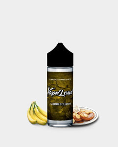 Tečnost VapeLoud Caramelised Banana 100ml 3mg