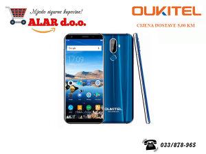 Mobitel, Smartphone, Oukitel K5 Blue, White