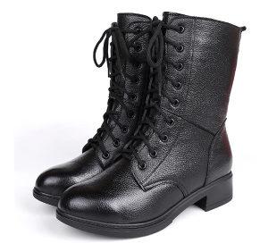 Ženske čizme cipele za jesen zimu crne