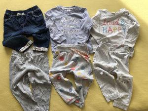Trenerke i hlače za djevojčice 1-2 god.