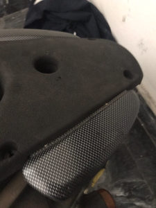 Yamaha aerox ručke suvozača carbon