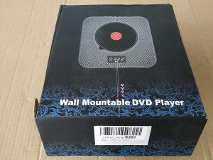 Zidni DVD player,bluetooth,daljinski,nosač,HDMI kabal