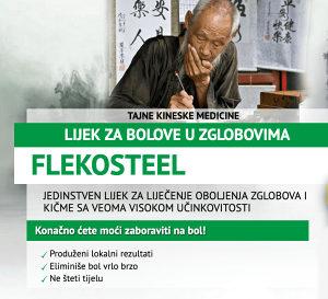 FLEKOSTEEL - KREMA ZA ZGLOBOVE I KIČMU