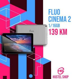 """Tablet FLUO CINEMA 2 1/16GB 10"""" SILVER"""