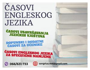 Časovi engleskog jezika i usluge prevođenja