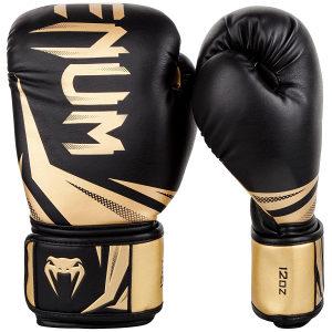 Venum - Challenger 3.0 Boxing Gloves - Black/Gold