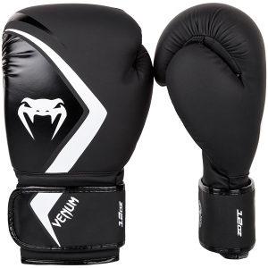 Venum - Boxing Gloves Contender 2.0 - Black/Grey-White