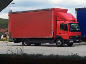 Mercedes atego kamion može zamjena *rol cerada* klima