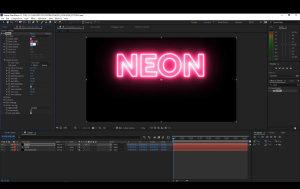 Izrada 3d-2d logo i tekstualnih animacija