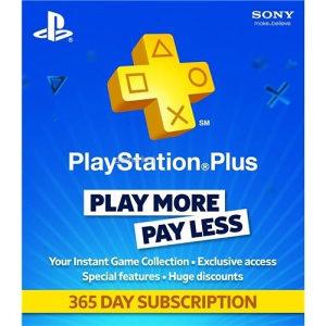 PS4 PS PLUS pretplata PlayStation plus 1 godina