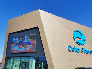 Oglašavanje Delta Planet Banja Luka - LED Display