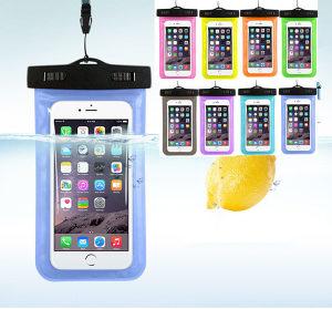 Zaštita za mobilni tel od vode, snijega, kiše bijela