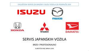 SERVIS JAPANSKIH VOZILA